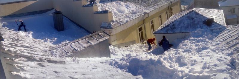 Оквэд очистка кровель от снега