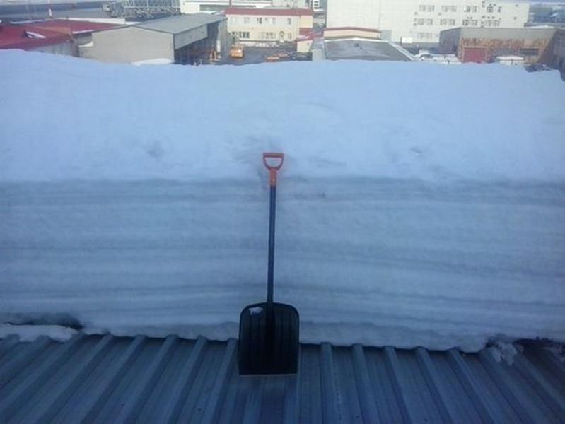 Расчет стоимости очистки крыш от снега